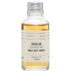 Kavalan Bourbon Oak Sample Taiwanese Single Malt Whisky