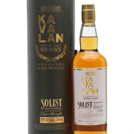 Kavalan Solist Bourbon Cask #078A (2010) Taiwanese Single Malt Whisky