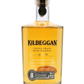 Kilbeggan 8 Year Old Single Grain Irish Whiskey