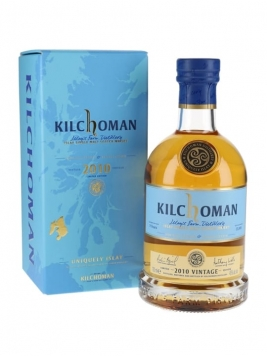 Kilchoman 2010 Vintage / 9 Year Old Islay Single Malt Scotch Whisky