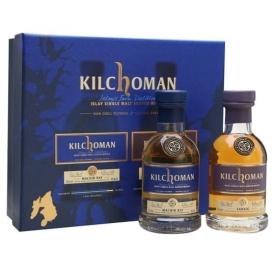 Kilchoman Machir Bay and Sanaig Gift Pack / 2x20cl Islay Whisky