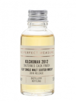 Kilchoman Sauternes Cask Finish 2012 Sample / 2018 Release Islay Whisky