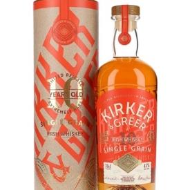 Kirker & Greer 10 Year Old Single Grain Irish Single Grain Whiskey