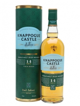 Knappogue Castle 14 Year Old / Gift Tube Irish Single Malt Whiskey
