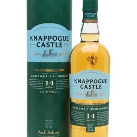 Knappogue Castle 14 Year Old / Gift Tube Irish Single Malt Whiskey