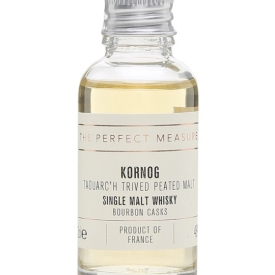 Kornog Taouarc'h Trived Sample / Bourbon Casks / Peated Malt French Whisky
