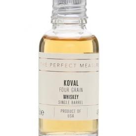 Koval Four Grain Whiskey Sample American Single Barrel Whiskey