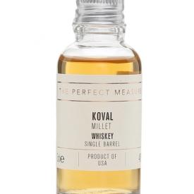 Koval Millet Whiskey Sample American Single Barrel Millet Whiskey