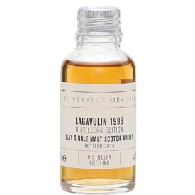 Lagavulin 1998 Distillers Edition Sample / Bot.2014 Islay Whisky