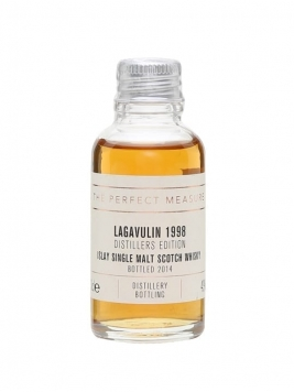 Lagavulin 1998 Distillers Edition Sample / Bot.2014 Islay Whisky