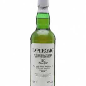 Laphroaig 10 Year Old / Bot.1990s / (Post Royal Warrant) Islay Whisky