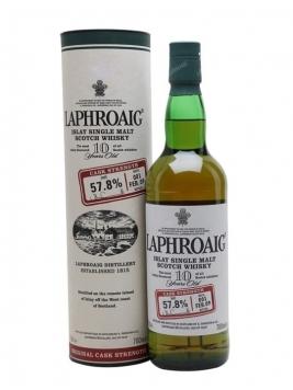 Laphroaig 10 Year Old Cask Strength / Batch 001 / Bot. 2009 Islay Whisky