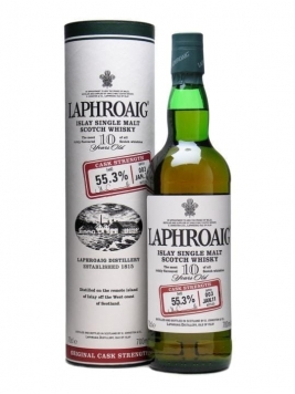 Laphroaig 10 Year Old Cask Strength / Batch 003 / Bot.2011 Islay Whisky