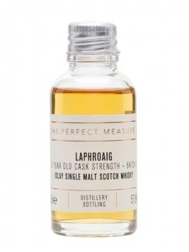 Laphroaig 10 Year Old Cask Strength Sample / Batch 001 Islay Whisky