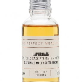 Laphroaig 10 Year Old Cask Strength Sample / Batch 001 Islay Whisky