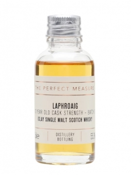 Laphroaig 10 Year Old Cask Strength Sample / Batch 003 Islay Whisky