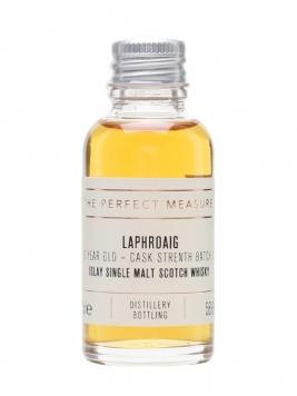 Laphroaig 10 Year Old Sample / Cask Strength / Batch 011 Islay Whisky