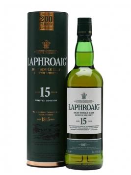 Laphroaig 15 Year Old / 200th Anniversary Islay Whisky