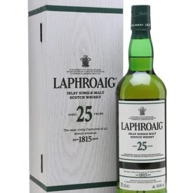 Laphroaig 25 Year Old / Cask Strength / Bot.2016 Islay Whisky