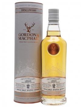 Ledaig 12 Year Old / Smoky / Gordon & MacPhail Discovery Island Whisky