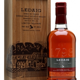 Ledaig 18 Year Old Batch 3 / Sherry Finish Island Whisky