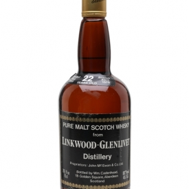 Linkwood-Glenlivet 1956 / 22 Year Old / Cadenhead's Speyside Whisky