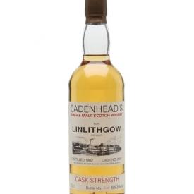 Linlithgow 1982 / Cask #2841 / Cadenhead's Lowland Whisky