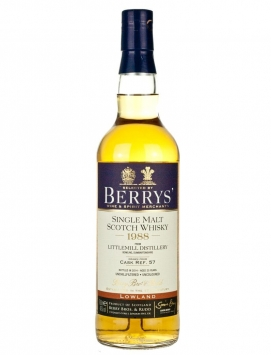Littlemill 25 Year Old 1988 Berry's Own