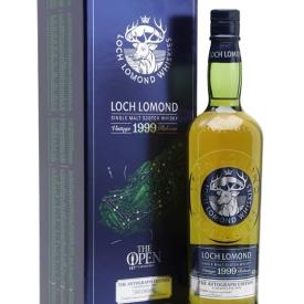Loch Lomond 1999 Cask Strength/Paul Lawrie Autograph Edition Highland Whisky