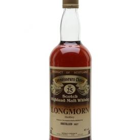 Longmorn 1957 / 25 Year Old / Connoisseurs Choice Speyside Whisky