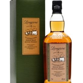 Longrow 14 Year Old Campbeltown Single Malt Scotch Whisky