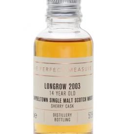 Longrow 14 Year Old Sample / Sherrywood Campbeltown Whisky