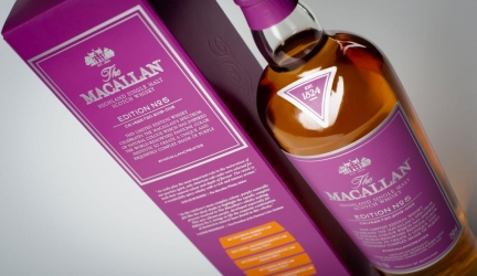 The Macallan No. 5 Celebrating Natural Colour
