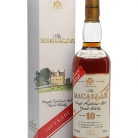 Macallan 10 Year Old / 100 Proof / Bot.1990s Speyside Whisky
