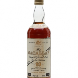 Macallan 10 Year Old / Bot.1980s Speyside Single Malt Scotch Whisky