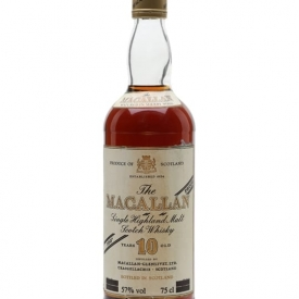 Macallan 10 Year Old / 100 Proof / Bot.1980s Speyside Whisky
