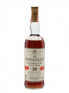 Macallan 10 Year Old / Full Proof / Bot.1980s Speyside Whisky