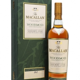 Macallan 12 Year Old Woodland Estate Speyside Whisky
