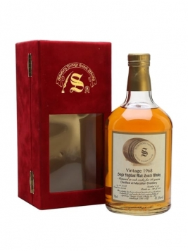 Macallan 1968 / 26 Year Old / Cask #10543 / Signatory Speyside Whisky
