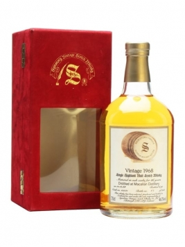 Macallan 1968 / 26 Year Old / Signatory Speyside Whisky