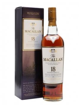 Macallan 1990 / 18 Year Old / Sherry Oak Speyside Whisky