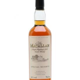 Macallan Special Reserve Speyside Single Malt Scotch Whisky