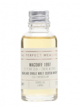 Macduff 1997 Sample / 21 Year Old / Old Particular Highland Whisky