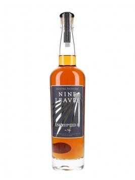 Nine Leaves Encrypted III Rum Single Traditional Pot Still Rum