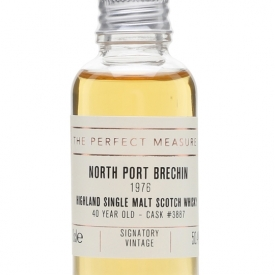 North Port Brechin 1976 Sample / 40 Year Old/ Signatory Highland Whisky