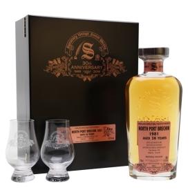 North Port Brechin 1981 / 36 Year Old / Signatory 30th Anniversary Highland Whisky
