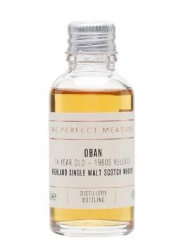 Oban 14 Year Old Sample / Bot.1980s Highland Single Malt Scotch Whisky