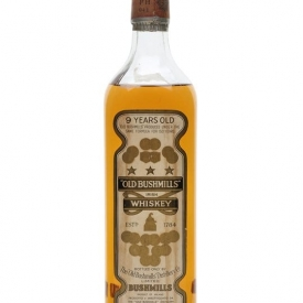 Old Bushmills 9 Year Old / Bot.1960s Blended Irish Whiskey