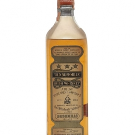 Old Bushmills White Label / Bot.1930's Irish Single Malt Whiskey