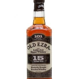 Old Ezra Brooks 15 Year Old Bourbon Kentucky Straight Bourbon Whiskey